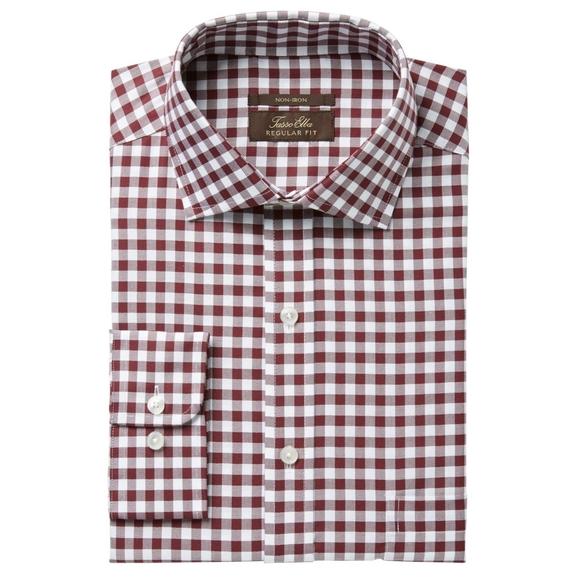 Tasso Elba Men's Non Iron Button Dress Shirt